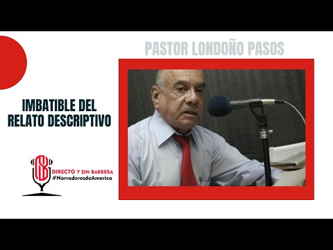 Pastor Londoño Pasos En Directo Y Sin Barrera Con Los #NarradoresDeAmerica