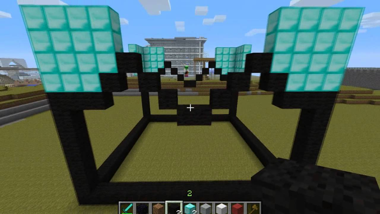 Minecraft: How To Make An Enchanting Table Statue