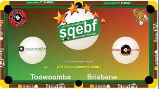 SQEBF City v Country | C Grade 8 Ball Teams - Toowoomba v Brisbane