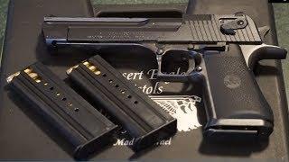 Desert Eagle .357 Magnum Range Test!