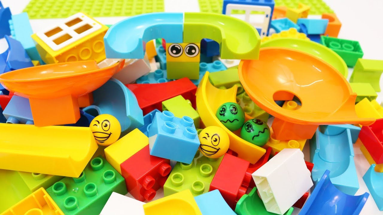 Building Blocks Toys For Children Learning Colors With