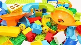 Building Blocks Toys for Children Learning Colors with Marble Run for Kids thumbnail