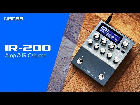 Introducing BOSS IR-200 Amp & IR Cabinet