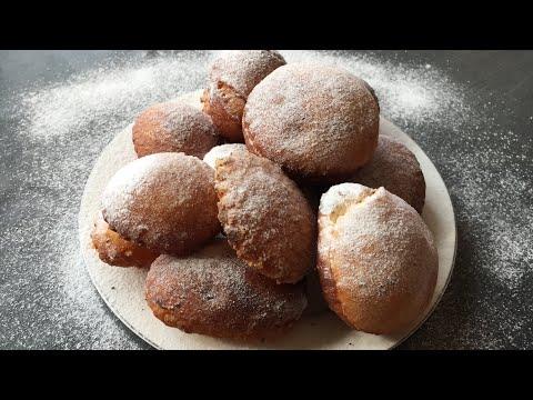 պոնչիկ-փքաբլիթ/Пончики с заварным кремом