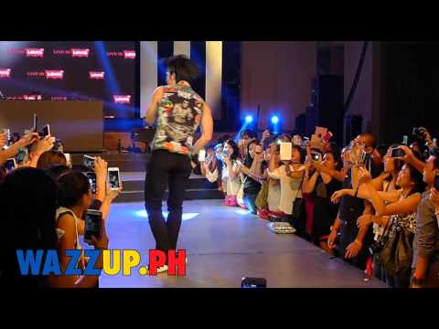 "Part 4 Vanness Wu singing ""Is this all"" at the Levi's Event"