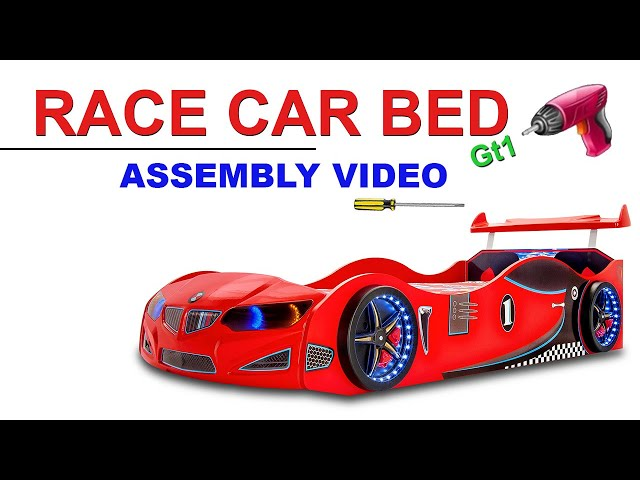 GT1 - Car bed - assembly video.