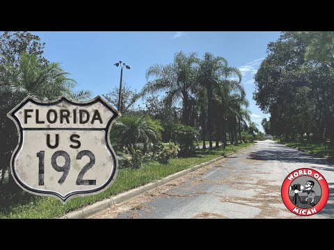 The Not-So-Touristy Side of Highway 192 | Kissimmee FL | Old Motels, Bowling Alley & More!