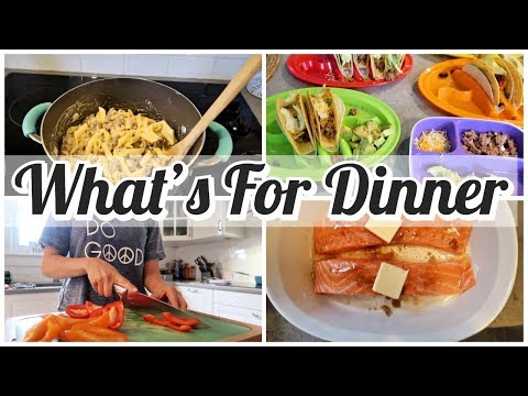 WHATS FOR DINNER // COOK WITH ME 2019 GLUTEN FREE EASY MEAL IDEAS // WHAT I EAT