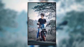 Film Look Effect | How to Stylize Outdoor Nature Portraits in Photoshop cc