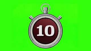 15 Timer green screen