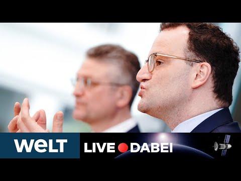 KAMPF GEGEN CORONA: Briefing von Jens Spahn und RKI-Chef Wieler zur Pandemie-Lage   WELT Live dabei