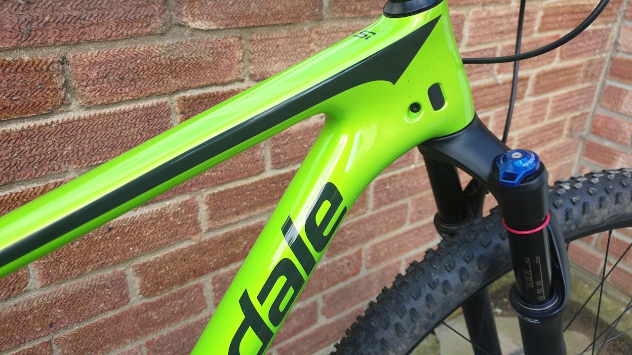 8204f809dfe 2019 Cannondale F-Si Carbon 5 - 100km Review - YouTube
