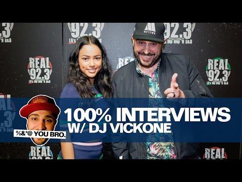 100% INTERVIEWS W/ DJ VICK ONE AND KARRUECHE!!!!