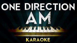 One Direction - AM | Piano Karaoke Instrumental Lyrics Cover Sing Along