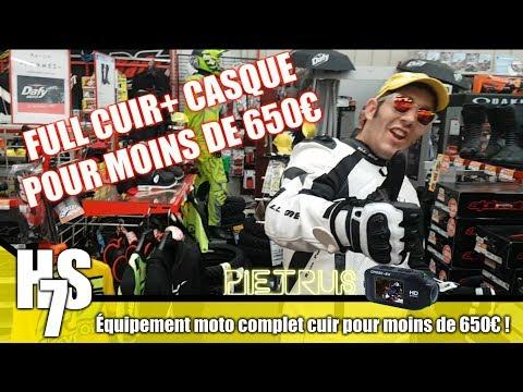 HS #7 - Équipement moto complet cuir pour moins de 650€ !