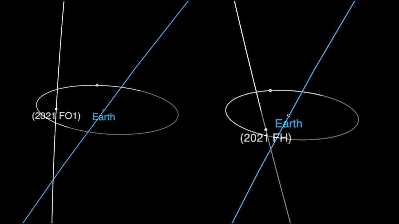 2 asteroids to zoom closer than moon in less than 24 hours