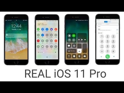 Real IOS 11 Pro Theme