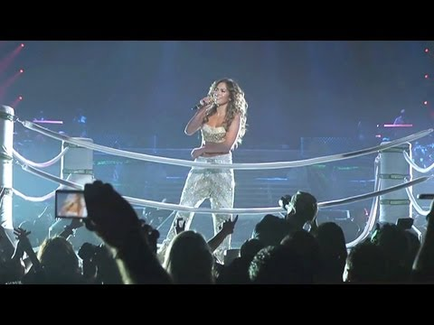 Jennifer Lopez Talks American Idol on Tour