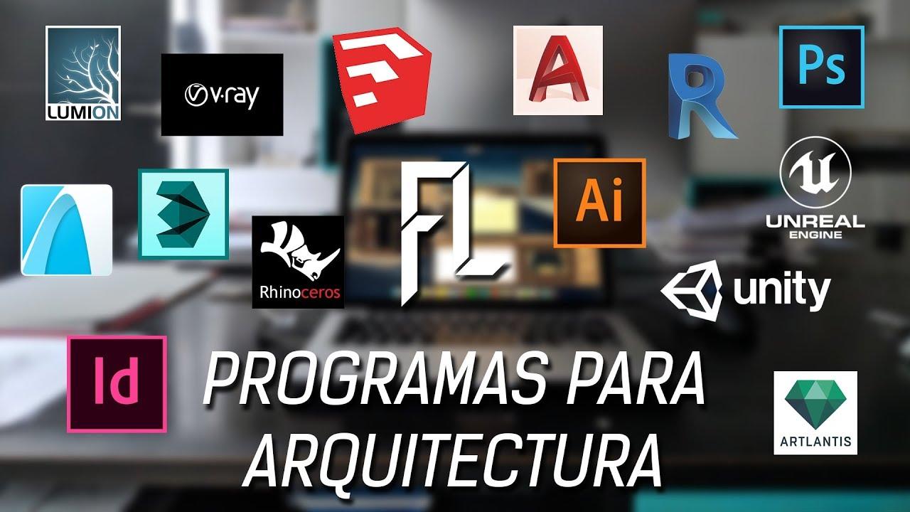 Programas de arquitectura y cual usar youtube for Programas para arquitectura para pc