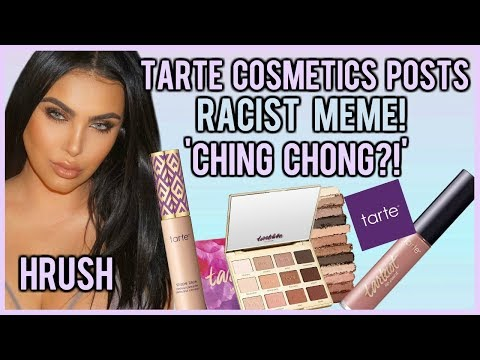 TARTE COSMETICS POSTS RACIST MEME AND BLAMES AN INTERN!