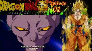 Dragon ball super episode 01 - substitle indonesia