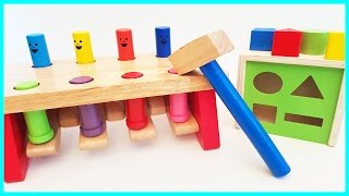 Baby Toys Hammer Pop Up Toy Shape Sorting