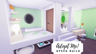 Tiny Home Mint Budget Home Speed Build Roblox Adopt Me Youtube