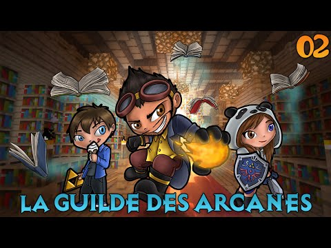 La Guilde des Arcanes - Minage et Repopulation ! #2