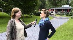 Muroleen kanavan Kesäkahvilan työntekijä Reetta kertoo suven kulusta.