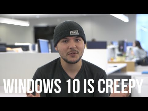 Windows is spying on you and its super creepy