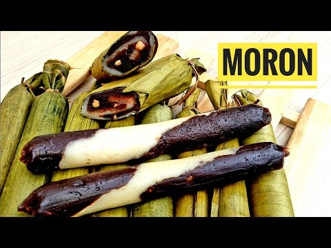Suman Moron | Muron | Moron recipe | Kakanin (Pinoy food)