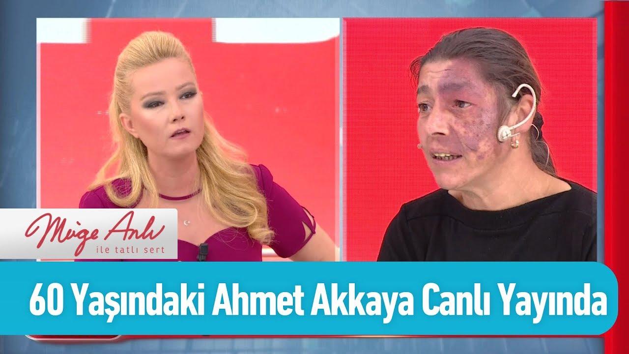 60 Yaşındaki Ahmet Akkaya canlı yayında - Müge Anlı ile Tatlı Sert 4 Kasım 2019