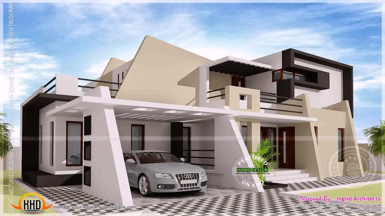 2000 sq ft house plans 2 story indian style youtube for House plan 2000 sq ft india