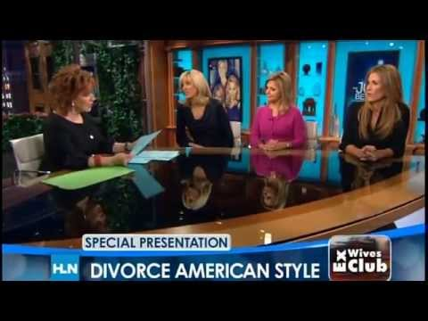 Marla Maples Speaks About Divorce On HLN Network with Joy Behar