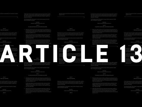 What is Article 13 and will it Kill Memes? WIRED Explains Mp3