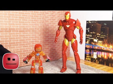 """""""Iron Man meets Iron Bot"""" - By The stikbot With CREATIONS"""