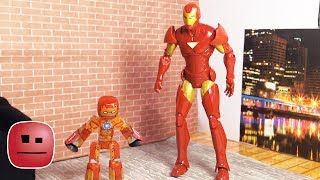 """Iron Man meets Iron Bot"" - By The stikbot With CREATIONS"