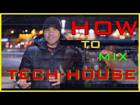 How To Transition Mix Pumping Tech-House: (3 Decks) Mark Knight Vs Dean Mason