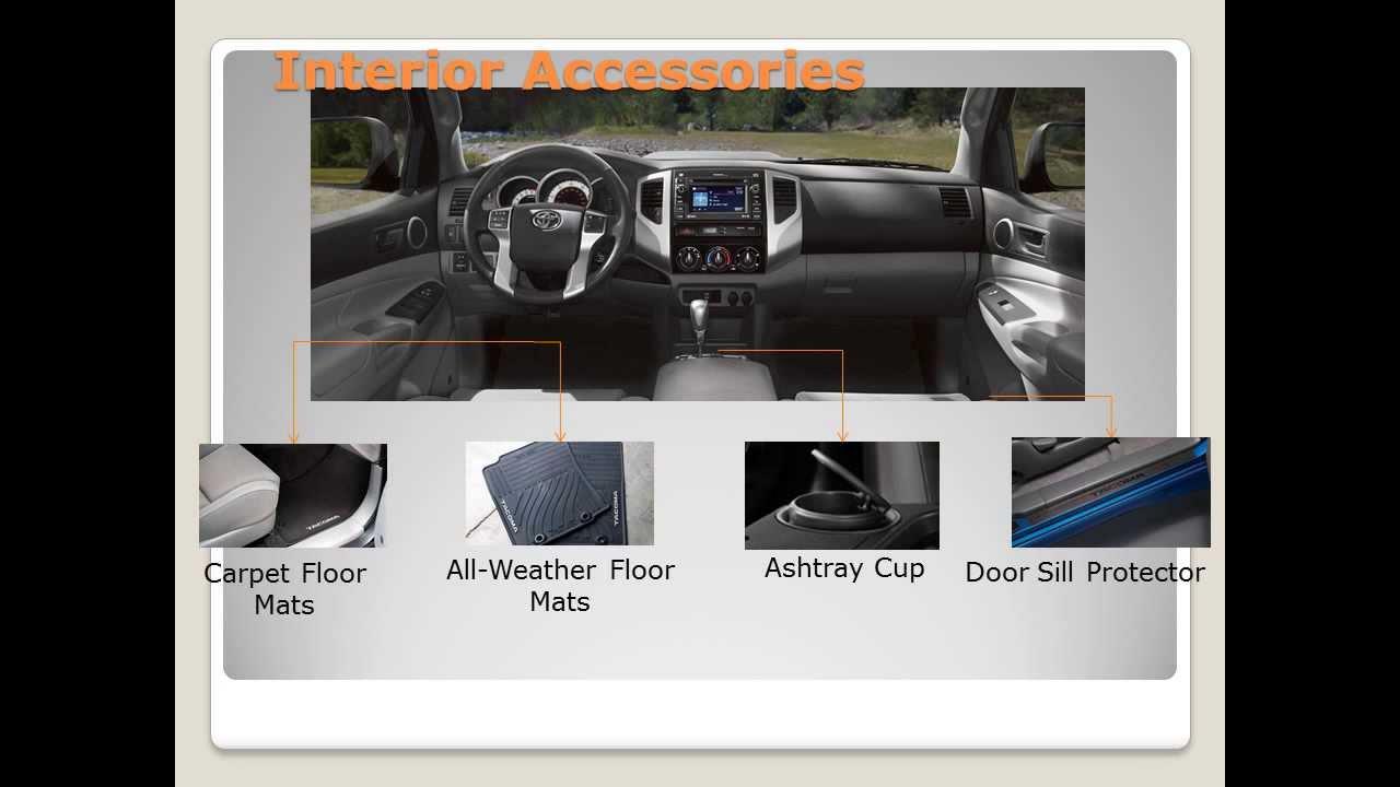 2013 Toyota Tacoma Accessories Youtube