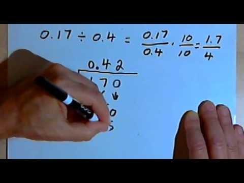Dividing Decimals 127-4.8