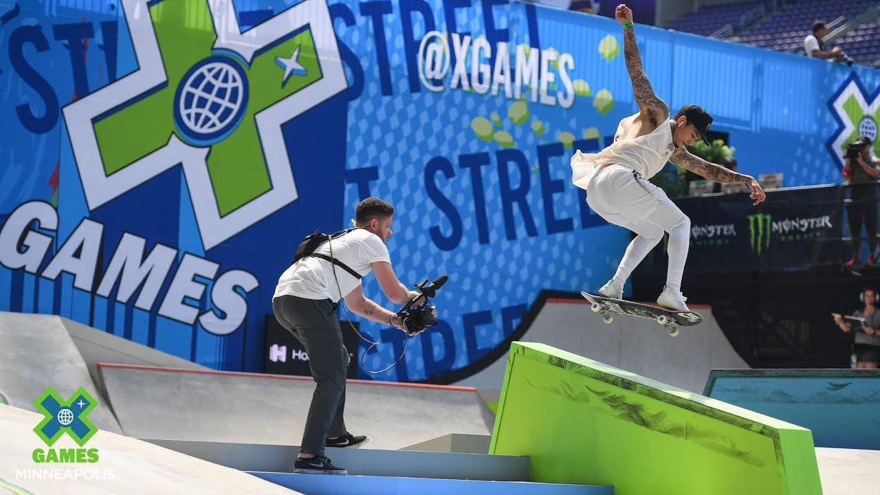 HIGHLIGHTS: Skateboard Street Best Trick | X Games Minneapolis 2019