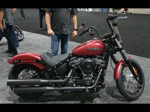 new colors 2019 street bob wicked red denim harley davidson youtube. Black Bedroom Furniture Sets. Home Design Ideas