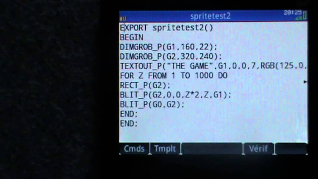 Exciting graphic objects on the HP-Prime