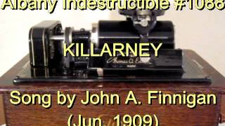 1088 - KILLARNEY, Song by John A. Finnigan (Jun. 1909)