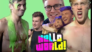 """I GOT SLIMED BY MY """"FRIENDS!""""   Hello World   Tom Daley"""