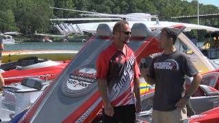 Speedonthewater.com Sunsation Powerboats interview from 2014 Lake of the Ozarks Shootout