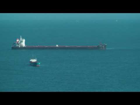 SHIP AM HAMBURG IMO 9624093 V7ZZ5 MARSHALL ISLANDS GIJON HD