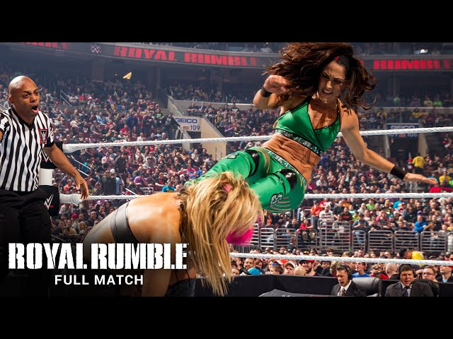FULL MATCH - The Bella Twins vs. Paige & Natalya: Royal Rumble 2015