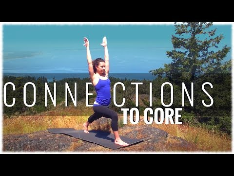 Connections to Core Power Yoga Class with Fiji McAlpine