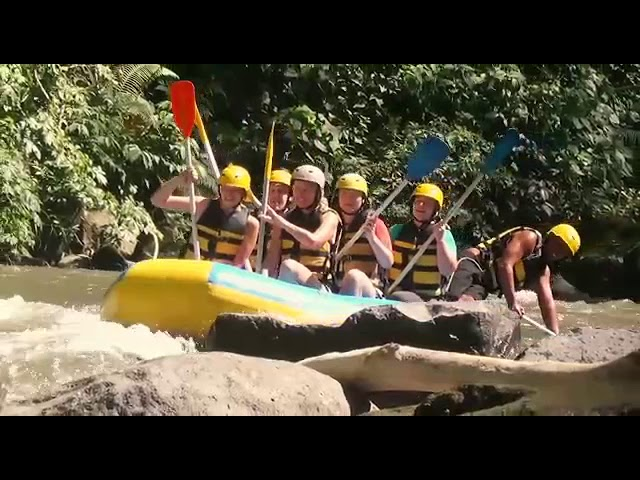 Amazing ayung river rafting only idr 350.000
